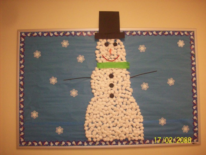 bulletin boards christmas and winter boards